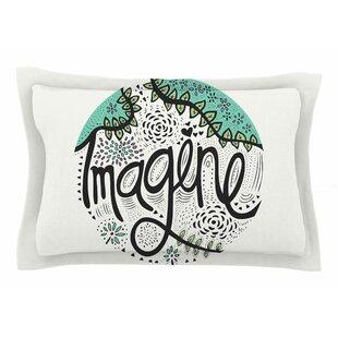 Pom Graphic Design 'Imagine' Nature Typography Sham