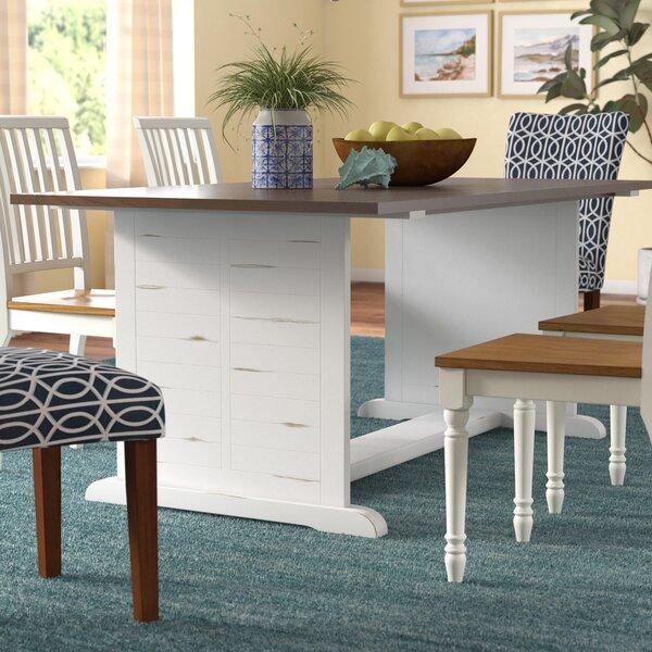 Super Oak Laminate Top Dining Table | Wayfair RP34