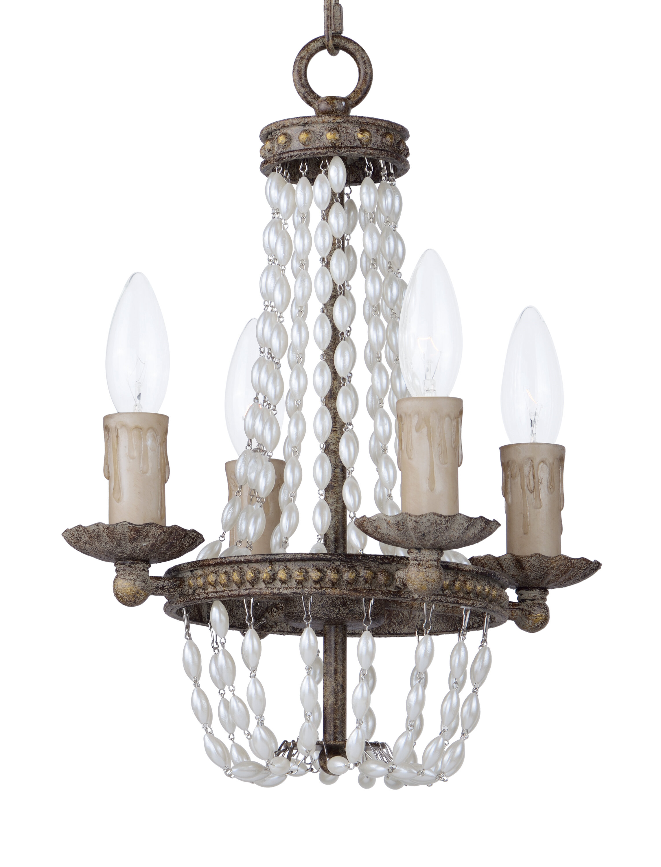 e Allium Way Georgiana 4 Light Candle Style Chandelier & Reviews