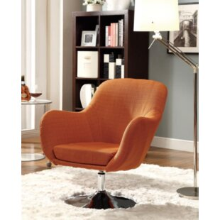 Read Reviews Nicolle Swivel Armchair by Ivy Bronx