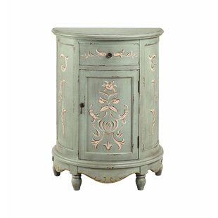Cloutier 1 Door Accent Cabinet by One Allium Way