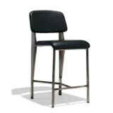 Prouve Soft 29.5 Bar Stool by Industrial Modern