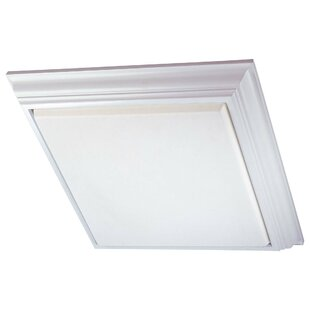 Minka Lavery 4-Light Square Flush Mount