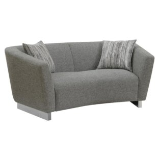 Rivet Loveseat by Orren Ellis