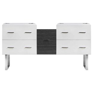 Xena Plywood-Veneer 61 Double Bathroom Vanity Base by American Imaginations