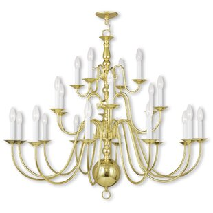 Three Posts Allensby 22-Light Chandelier