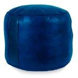 Magnificent Navy Blue Leather Ottoman Wayfair Spiritservingveterans Wood Chair Design Ideas Spiritservingveteransorg