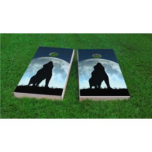 Custom Cornhole Boards Wol..