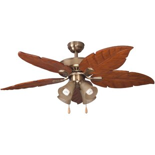 Reviews 52 Kay Indoor 5 Blade Ceiling Fan with Remote By Bayou Breeze