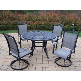 Oakland Living Sunray 5 Piece Dining Set
