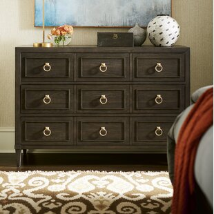 Everly Quinn Garton Dressing 3 Drawer Chest