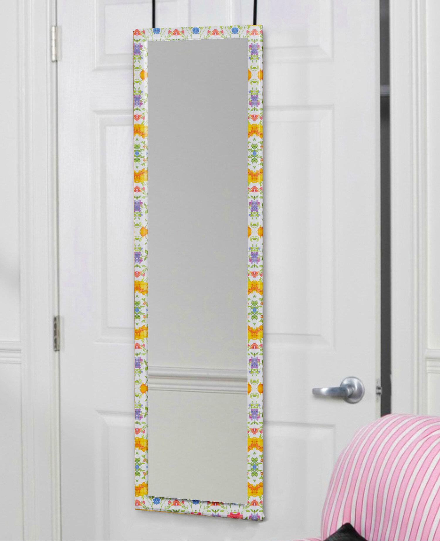 Mirrotek Over The Door Full Length Mirror U0026 Reviews | Wayfair