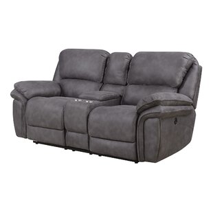 Cannaday Reclining Loveseat by Alcott Hill