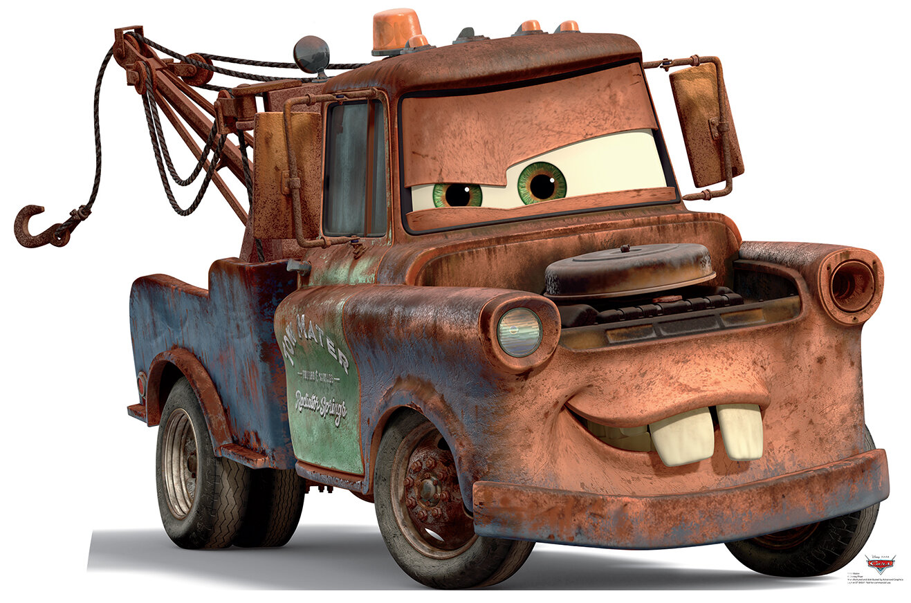 6dc0d73f80 Advanced Graphics Cars Disney s Mater Life Size Cardboard Standup   Reviews