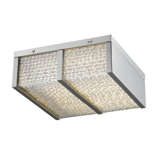 Orren Ellis Worrell LED Flush Mount