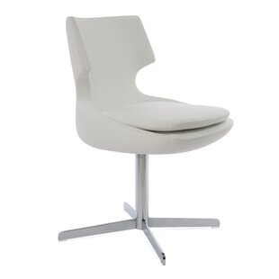 Patara Genuine Leather Upholstered Dining Chair