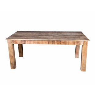 Kandiyohi Solid Wood Dining Table Bloomsbury Market