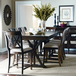 Rockton 9 Piece Wood Dining Set by Laurel Foundry Modern Farmhouse