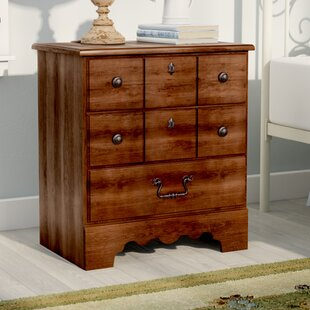 Elle 2 Drawer Nightstand by August Grove