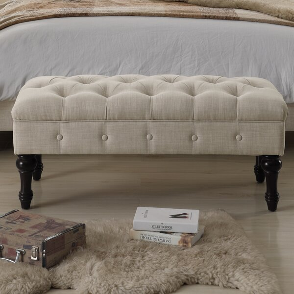 Ophelia Co Suellen Tufted Upholstered Bedroom Bench Reviews Wayfair