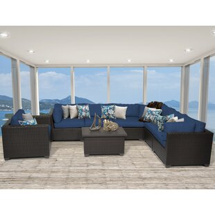Belle 8 Piece Sectional Set with Cushions by TK Classics