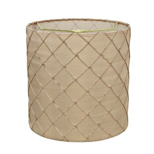 Transitional 8 Faux Silk Drum Lamp Shade