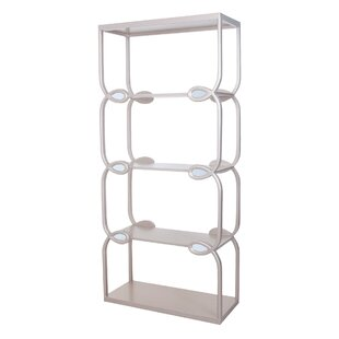 Roseau Etagere Bookcase Bungalow Rose