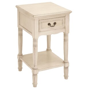 Muhammad 1 Drawer Nightstand by World Menagerie