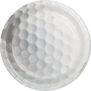 Golf Paper Appetizer Plate (Set of 24)