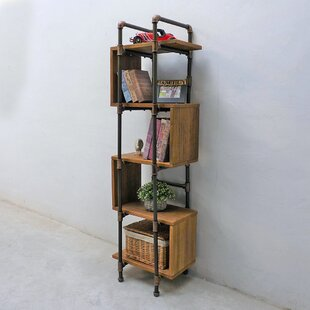 Cisneros Modern Industrial Etagere Bookcase