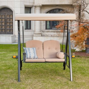 Darwen 2 Person Porch Swing with Stand