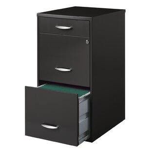 Hogge Office Designs 3 Drawer Vertical File Cabinet