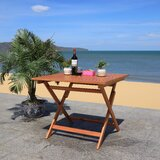 Updegraff Folding Wooden Dining Table