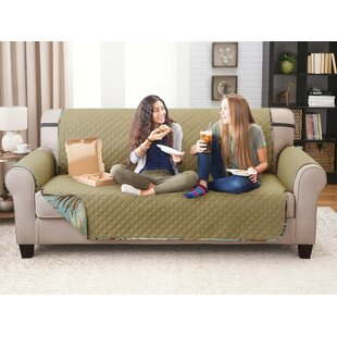 Affordable Printed T-Cushion Sofa Slipcover by Bay Isle Home Reviews (2019) & Buyer's Guide