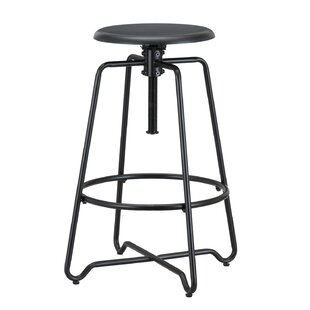 Altman Adjustable Height Bar Stool by Williston Forge