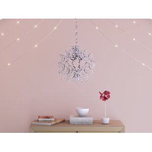 Willa Arlo Interiors Guzman 3-Light Crystal Chandelier