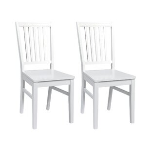 Solid Wood Dining Chair (Set Of 2) By August Grove