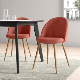 Laurent Upholstered Dining Chair (Set Of 2) By Hykkon
