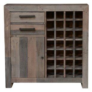 Abbey 28 Bottle Floor Wine Cabinet