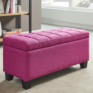 Find Pimentel Fabric Storage Ottoman ByEbern Designs