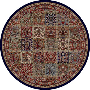 Read Reviews Edmont Jewel Panel Area Rug By World Menagerie