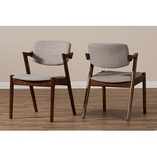 Carpio Upholstered Dining Chair (Set of 2) George Oliver