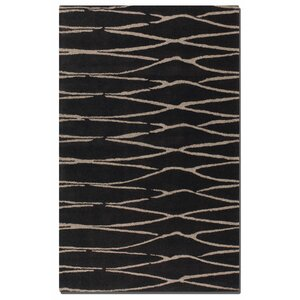 Temara Modern Hand-Tufted Darku00a0Chocolate Area Rug