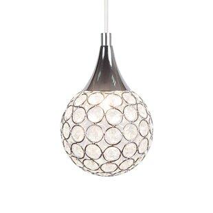 Thea 1-Light LED Globe Pendant Light