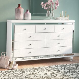 Willa Arlo Interiors Rivage 9 Drawer Dresser