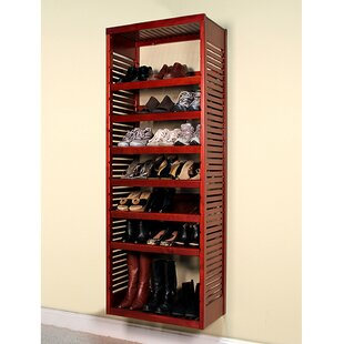 16 W Deep Solid Wood Deluxe Storage Tower