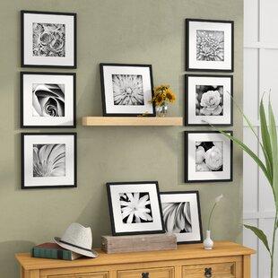 14f626f5edb Estinnes 9 Piece Wood Picture Frame Set