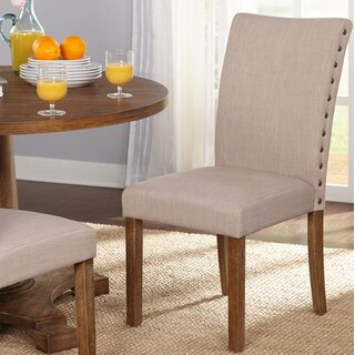 Whitmore Upholstered Dining Chair (Set of 2) by Ophelia & Co. SKU:DA228898 Check Price