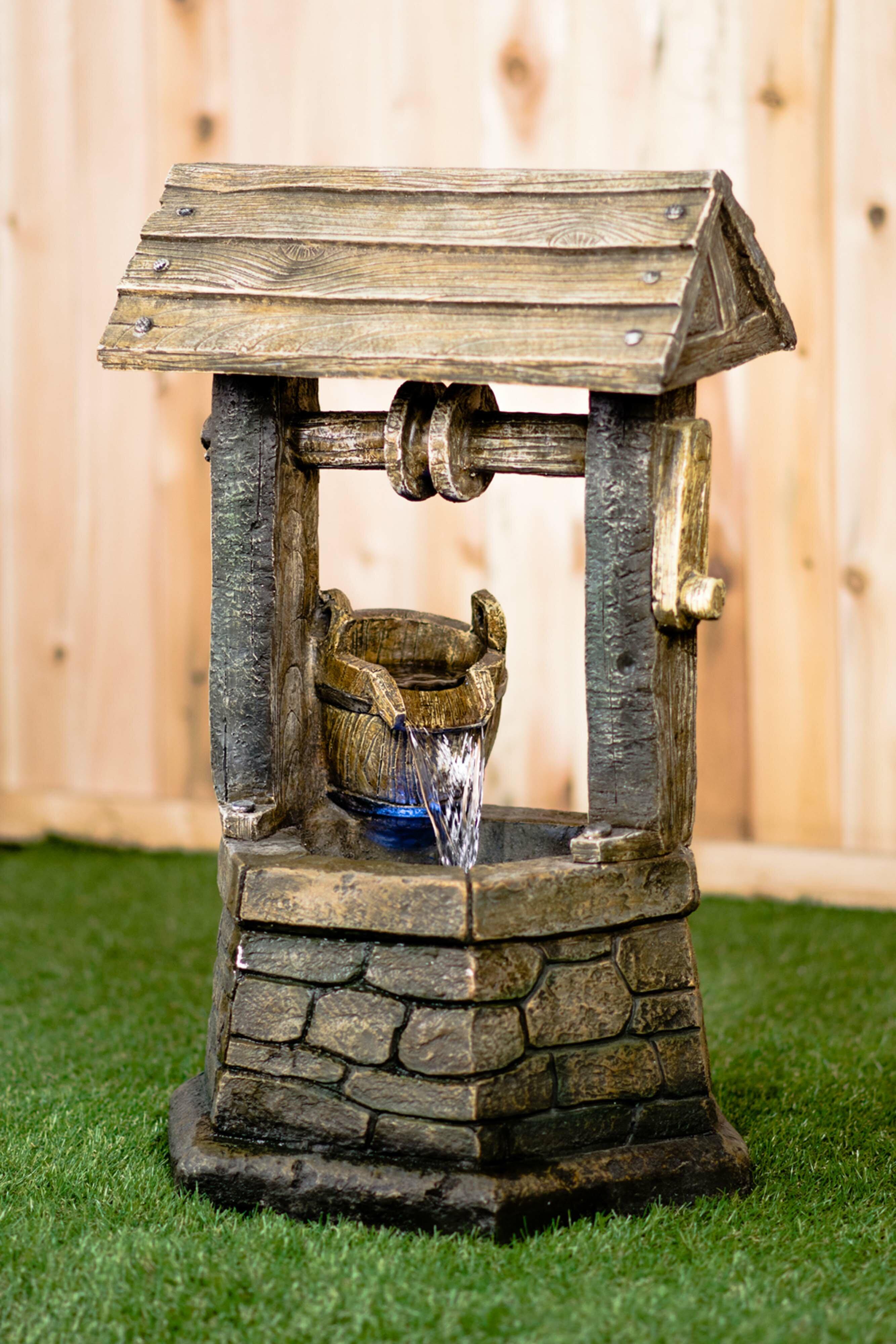 Wishing Well Fountain