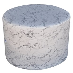 Dandys Marble Pouffe By Happy Barok